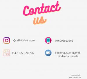 Kontaktmöglichkeiten